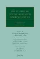 The Statute of the International Court of Justice. A Commentary